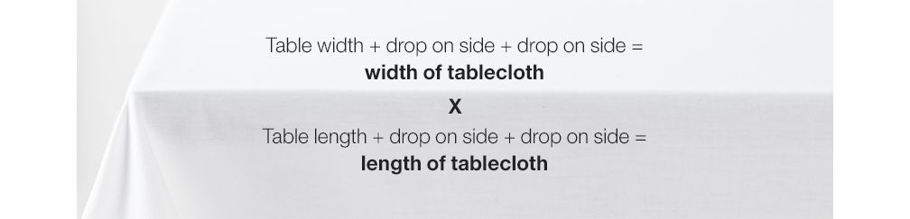 How To Choose A Tablecloth Size Crate And Barrel