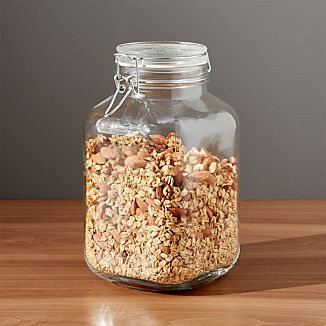 Fido 3-Liter Jar with Clamp Lid