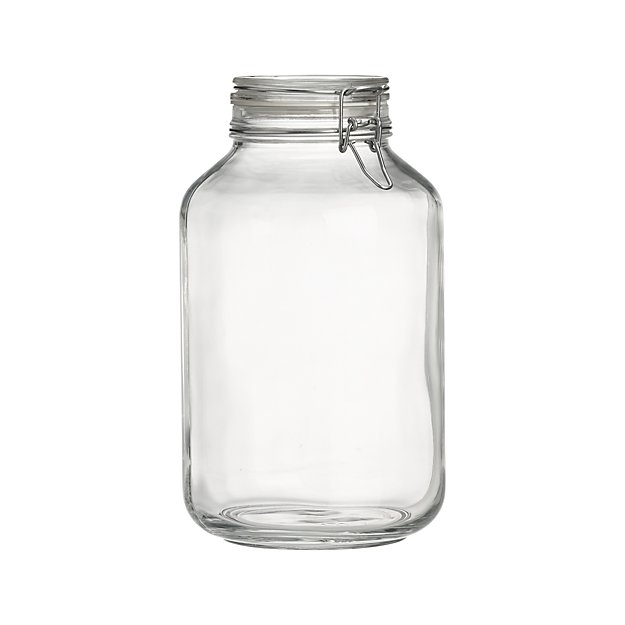 fido 5 liter jar with clamp lid reviews crate and barrel. Black Bedroom Furniture Sets. Home Design Ideas