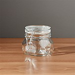 Fido .5-Liter Jar with Clamp Lid