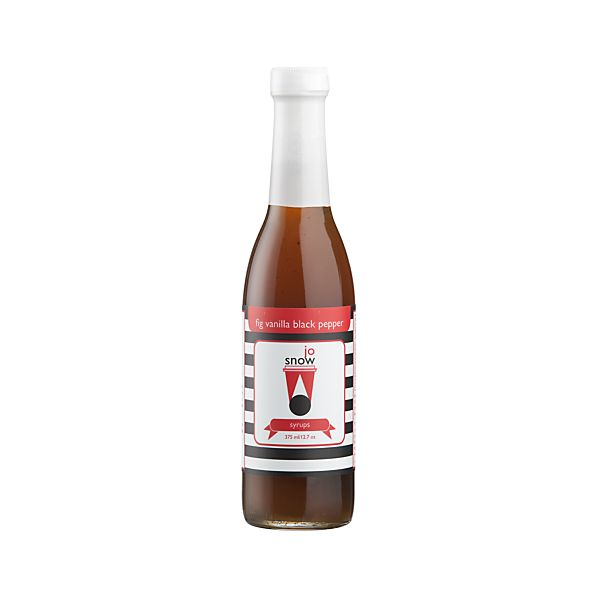 Fig Vanilla Black Pepper Coffee Syrup