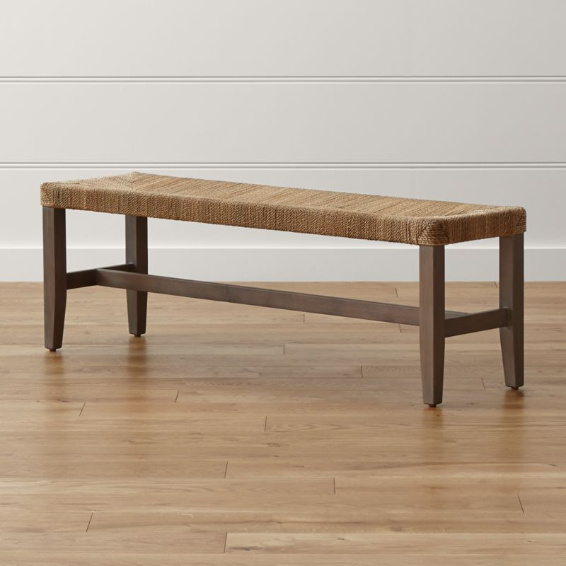 - Fiji Rope Bench Crate And Barrel