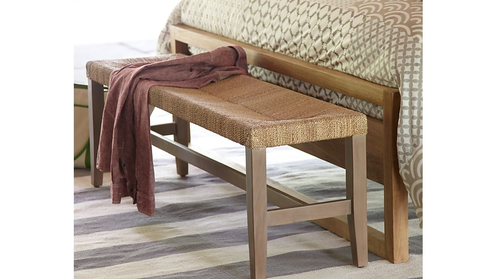 Fiji Bench Crate And Barrel