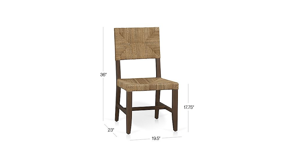 Fiji Dining Chair Crate And Barrel