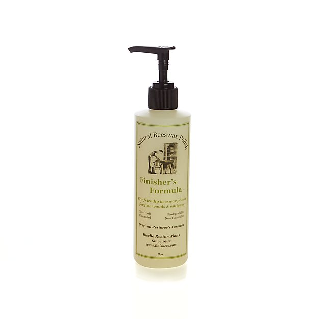 Finisher's Formula Natural Beeswax Polish - Patio Furniture Cleaner & Teak Protector Crate And Barrel