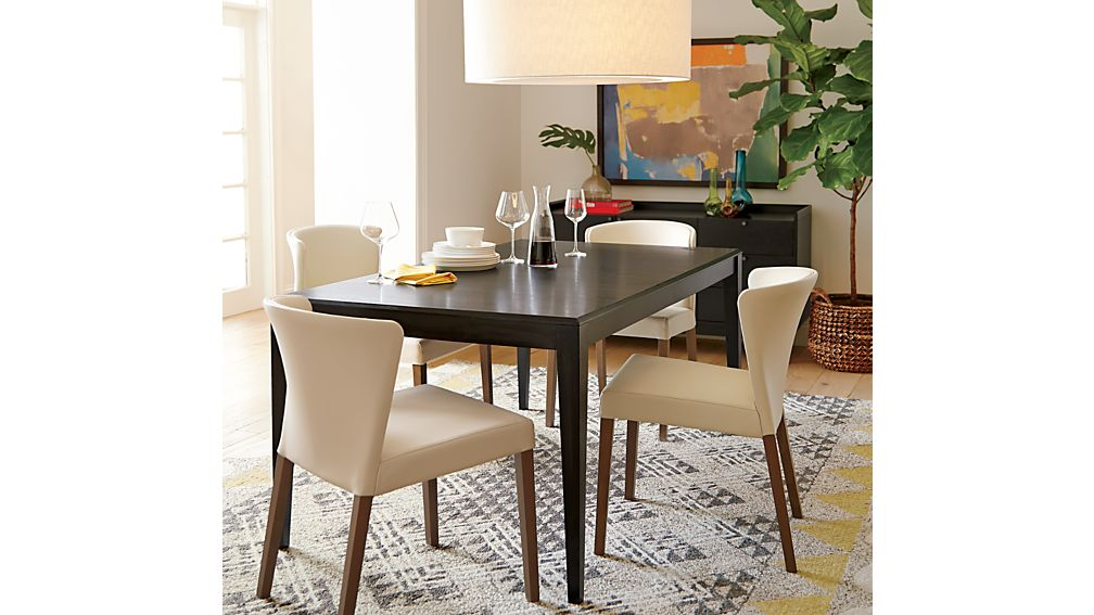 Curran Crema Dining Chair | Crate and Barrel