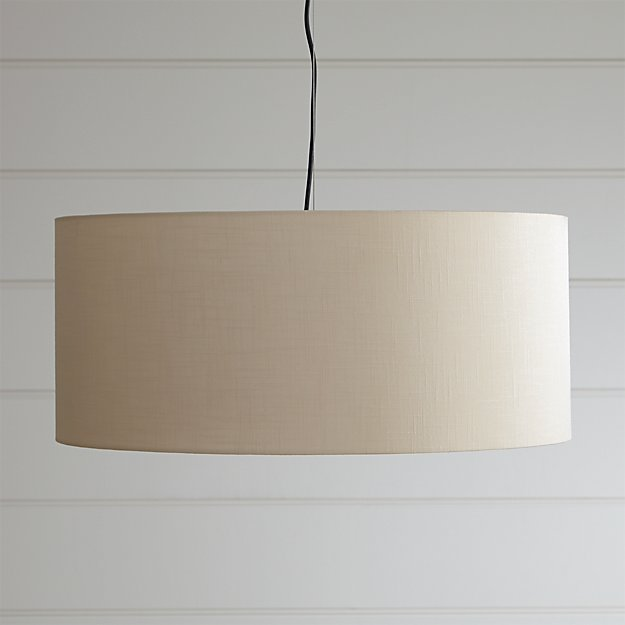 Finley Large Wheat Pendant Light  Crate and Barrel
