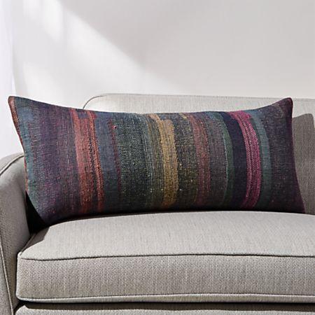 Finola Lumbar Pillow With Feather Down Insert 36 X16