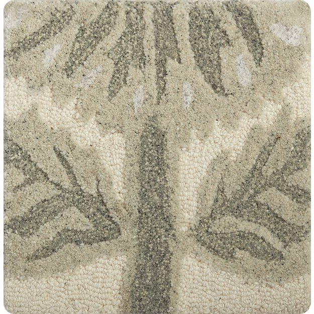 "Fiore Wool-Blend 12"" sq. Rug Swatch"