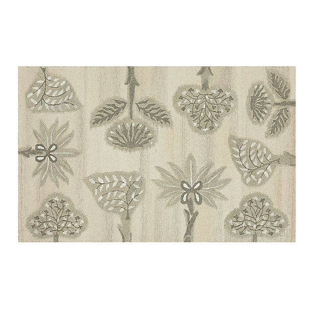 Fiore 5'x8' Wool-Blend Rug