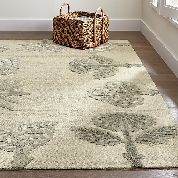 Fiore Wool-Blend Rug