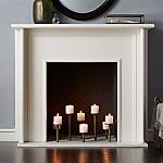 Brass Fireplace Candelabra