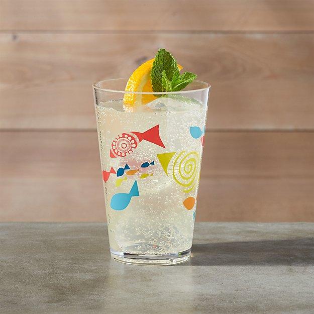 Fish Acrylic Cup