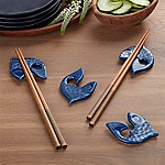 Fish Chopstick Rests, Set of 4