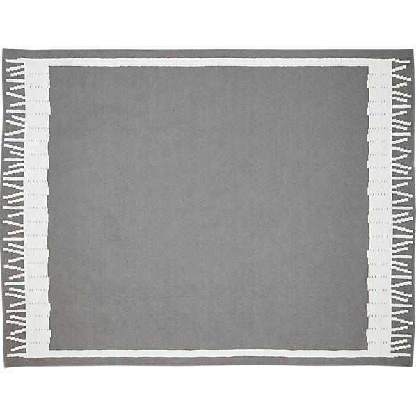 Fish Grey Indoor-Outdoor 8'x10' Rug