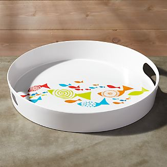 Fish Melamine Tray