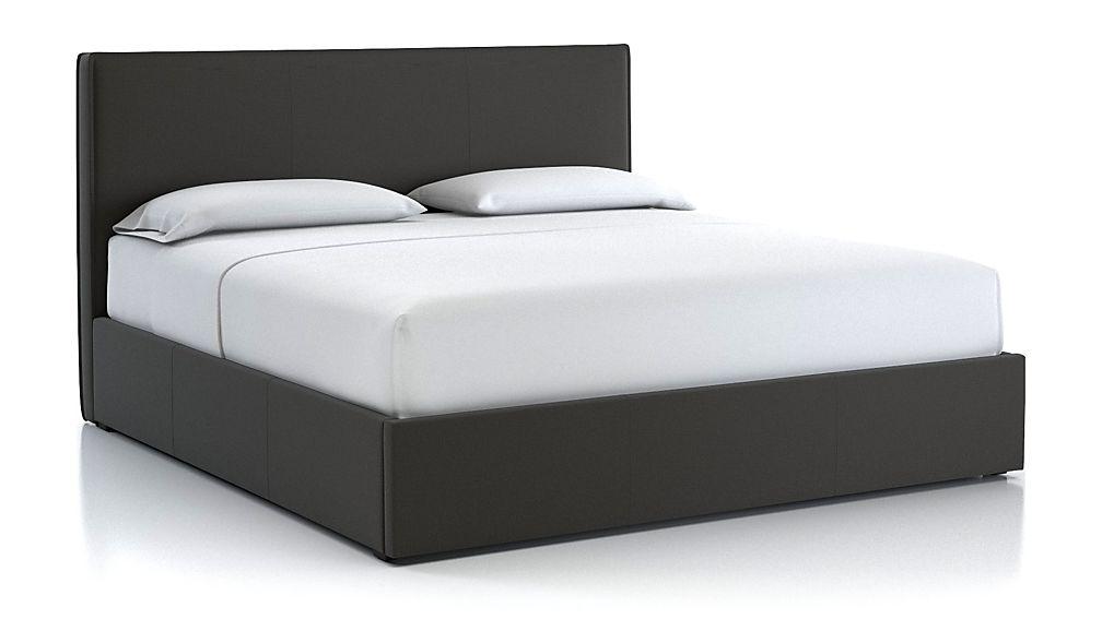 Flange King Bed Carbon - Image 1 of 2