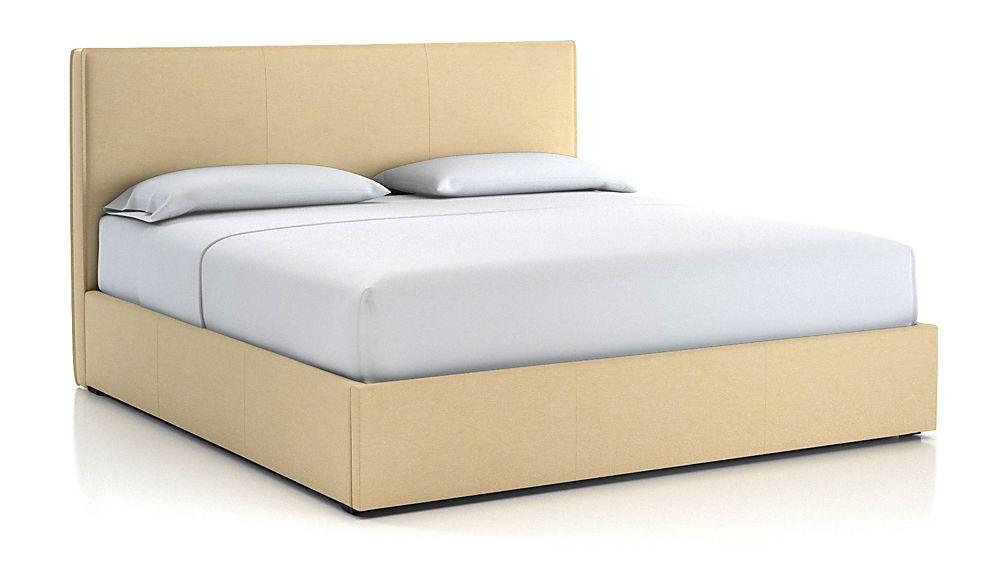 Flange King Bed Chalk - Image 1 of 2