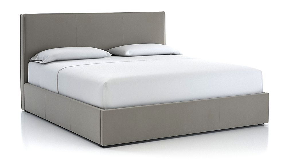 Flange King Bed Dove - Image 1 of 2