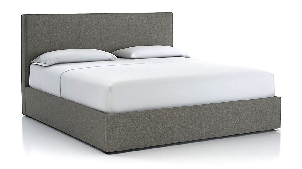 Flange King Bed Grey - Image 1 of 2