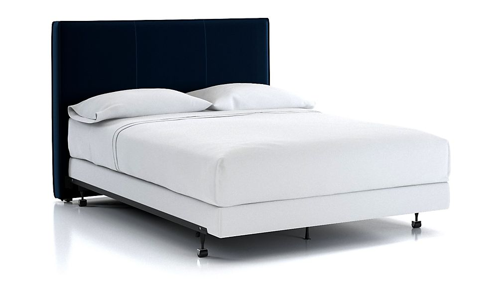 Flange Queen Headboard Midnight - Image 1 of 2