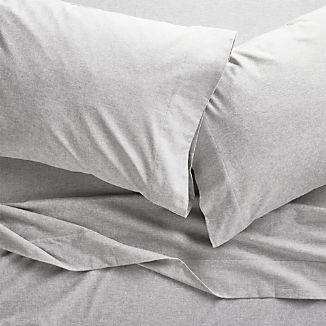 Grey Flannel Sheet Sets