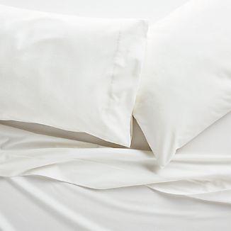 White Flannel Sheet Set Full