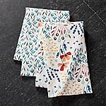 Fleur Dish Towels, Set of 2