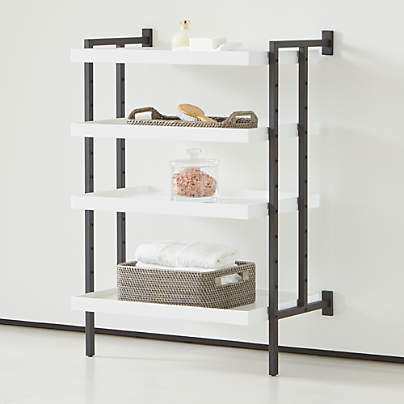 "View testFlex Modular 24"" 4-Shelf Half Bookcase"
