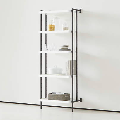 "View testFlex Modular 24"" 5-Shelf Full Bookcase"