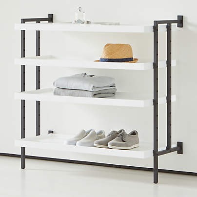 "View testFlex Modular 36"" 4-Shelf Half Bookcase"