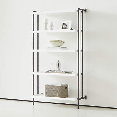 View testFlex Modular 5-Shelf Bookcase