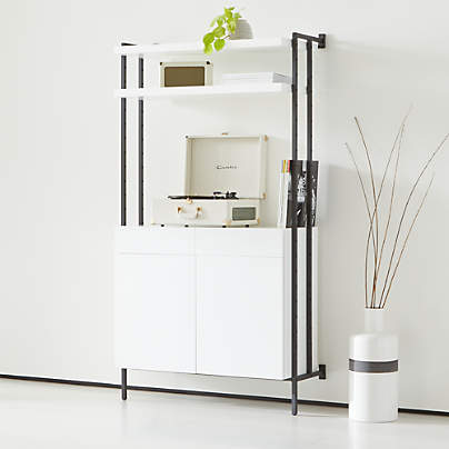 View testFlex Modular Closed Storage Cabinet with Shelves