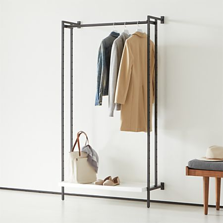 Flex Modular Clothing Rack Crate And