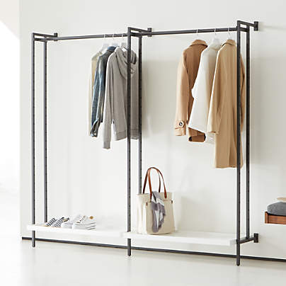 View testFlex Modular Double Clothing Rack