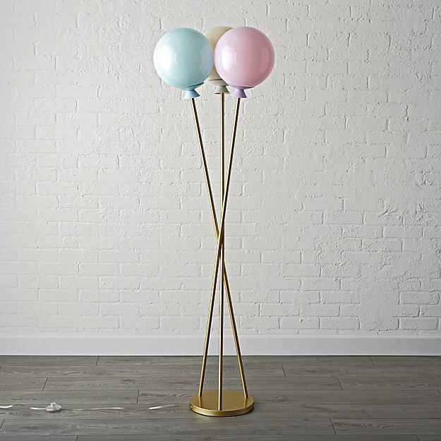 Floor lamp balloon off