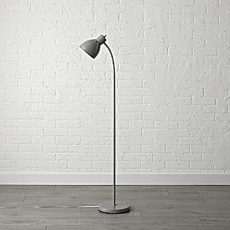 Grey Adjule Floor Lamp Kids