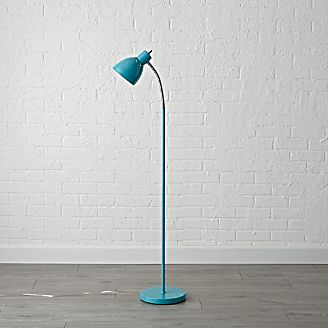 Kids floor lamps crate and barrel teal adjustable floor lamp mozeypictures Images
