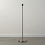 Mix and Match Nickel Floor Lamp Base