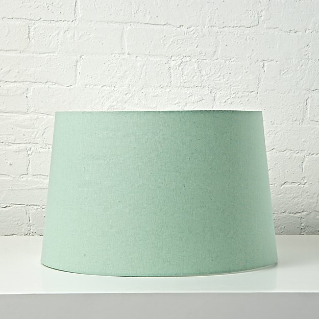 Mix and match mint floor lamp shade crate and barrel mozeypictures Choice Image