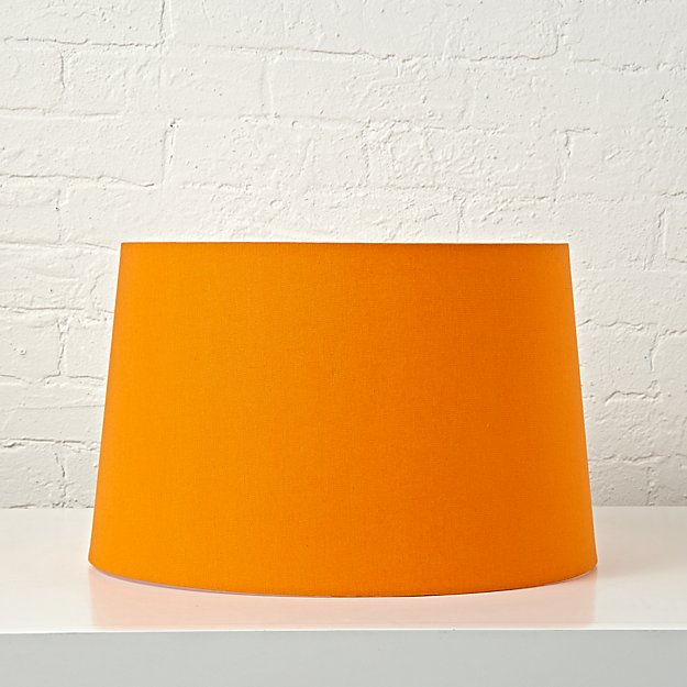 Mix and match orange floor lamp shade reviews crate and barrel mozeypictures Choice Image