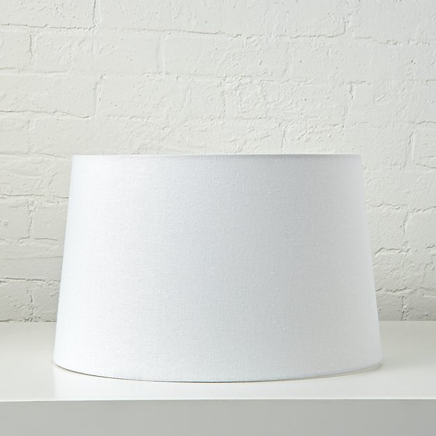 Mix and match white floor lamp shade reviews crate and barrel aloadofball Images