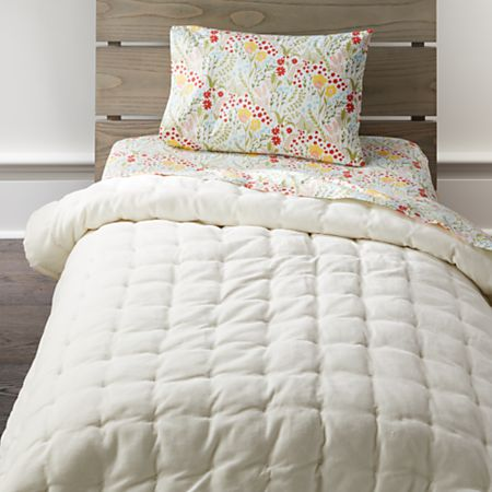 half off fb620 8ae44 Floral Fields Toddler Bedding