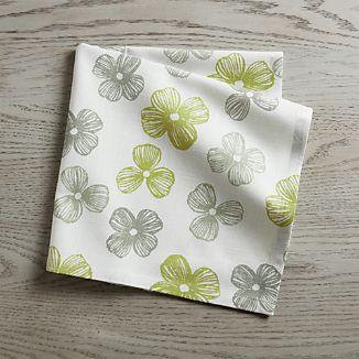 Floret Green Napkin