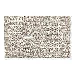 Florian Grey and White Geometric Rug 5'x8'