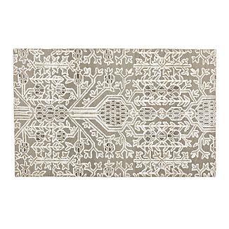 Florian Grey Wool-Blend 5'x8' Rug