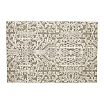 Florian Grey and White Geometric Rug 6'x9'