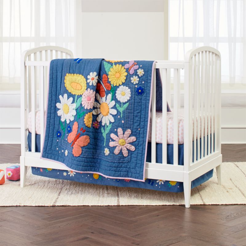 Flower Child Crib Bedding Crate And Barrel