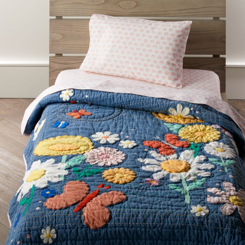 Flower Child Toddler Bedding Crate And Barrel