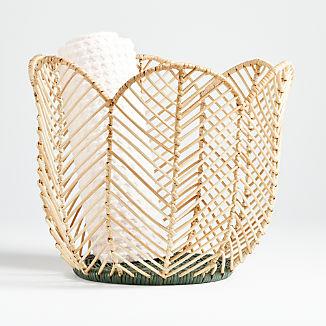 Flower-Shaped Basket